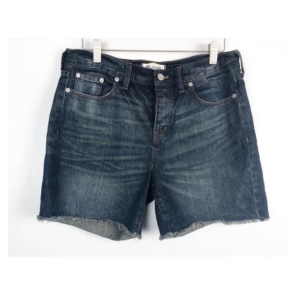 873a7e2fff Madewell Shorts   Jean Button Fly 5 Inch Inseam   Poshmark